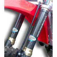 PRO-CARBON RACING Kawasaki Upper Fork Protectors - KX125 to 450 All years