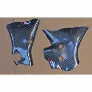 PRO-CARBON RACING Suzuki Frame Protection - RM125 2004-09