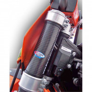 PRO-CARBON RACING Suzuki Top Upper Fork Protectors - RM125 to 450 All years