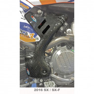 PRO-CARBON RACING Husqvarna Frame Protection - Tall - TE125/250/300 FE250/350/450/501 2017-19