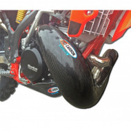 PRO-CARBON RACING Beta Exhaust Guard - RR 250-300 2013-19 (FMF Gnarly also)