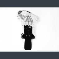 Skid plate with exhaust guard and plastic bottom for KTM EXC250; EXC300 Husqvarna TE250; TE300 Husaberg TE250; TE300 2007 - 2016