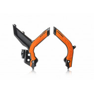 ACERBIS FRAME PROTECTOR X-GRIP KTM EXC 2020 (BLACK/ORANGE *  WHITE/BLACK * ORANGE/BLACK) AC 0024009