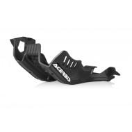ACERBIS SKID PLATE  KTM EXC 250 300 2020 ( BLACK * ORANGE ) AC 0023764.