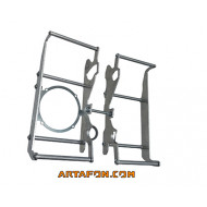 ARTAFON RADIATOR GUARD RG10 F – KTM HUSQVARNA 2020 COMPATIBLE WITH OEM SPAL FAN