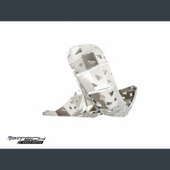 P-TECH Skid plate with exhaust guard for KTM Husqvarna EXC TE 150 2020 PK018