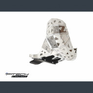 P-TECH Skid plate with exhaust pipe guard and plastic bottom for Beta RR 200 2019 PK0015B