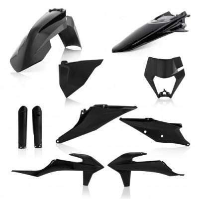 ACERBIS FULL KIT PLASTICS KTM EXC-F 2020 (BLACK * WHITE20 * ORANGE * STANDARD20) AC 0024054.