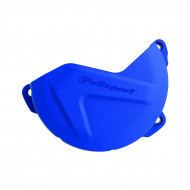 Clutch Cover Protector - Polisport - (BLACK * BLUE) - YAMAHA WR YZ 250 F/FX 2014-2019 8454900001