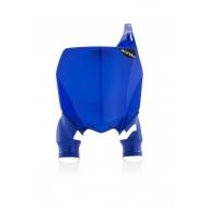ACERBIS FRONT NUMBER PLATES RAPTOR YAMAHA 450 18-20 + YZF 250 19-20 (BLUE * BLUE/WHITE * BLACK/WHITE * WHITE/BLUE) AC 0023094.