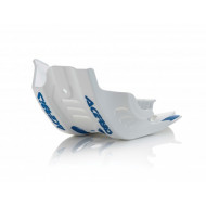 ACERBIS SKID PLATE FE 450 2020 (BLACK/WHITE * WHITE/BLUE) AC 0024254.