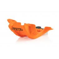 ACERBIS SKID PLATE XC-F 250/350 2020 (BLACK * ORANGE) AC 0024255.