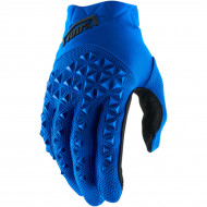 100% AIRMATIC SHORT GLOVES BLUE/BLACK 2X-LARGE 10012-215-14