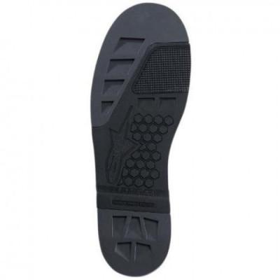 ALPINESTARS(MX) SOLE WITH INSERT TECH 8 BLACK 25SUT8-N-12/13