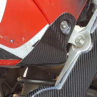 EXTREMECARBON Back Panel Tip Cover HONDA CRF 450 2017-2020 RED/CARBON 18.C.07.E.0001 H3 RED