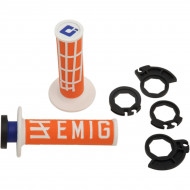ODI EMIG RACING V2 HALF-WAFFLE GRIP MULTIPLE COLORS H36EM