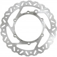 MOTO-MASTER BRAKE ROTOR FIXED NITRO CONTOURED NATURAL 110359