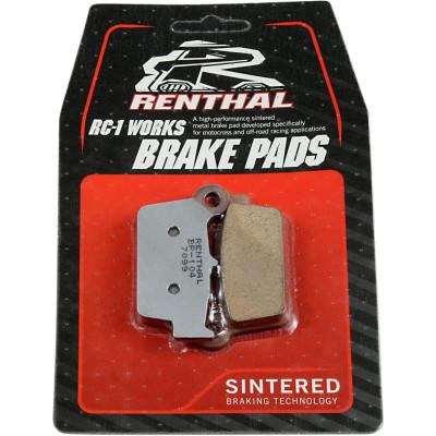 RENTHAL BRAKE PADS SINTERED BP104 BP-104