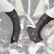 EXTREMECARBON Frame Guards TM RACING MX Fi 250/300/450/530 2015-2020 FLEXIBLE BLUE/CARBON 05.C.04.E.0002-2 FLEX BLUE