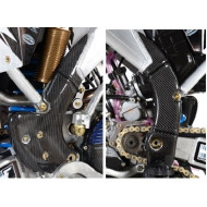 EXTREMECARBON Frame Guards TM RACING MX/EN 125/144/250/300 2008-2020 FLEXIBLE CARBON 05.C.04.E.0001 FLEX