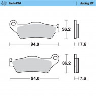 MOTO-MASTER BRAKE PADS FRONT KTM 930-12