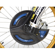 EXTREMECARBON Front Disc Cover TM RACING CC Fi 250/300 2013-2020 BLUE/CARBON 11.OS.04.E.0001 T4 BLUE