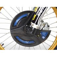 EXTREMECARBON Front Disc Cover TM RACING MX Fi 250/300/450/530 2013-2020 BLUE/CARBON 11.OS.04.E.0001 T2 BLUE