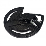 EXTREMECARBON Front Disc Cover YAMAHA YZ 125/250 2008-2020 BLUE/CARBON 11.OS.09.E.0001-1