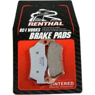 RENTHAL BRAKE PADS SINTERED BP107 BP-107