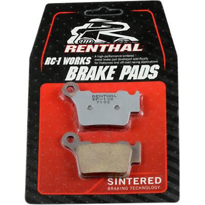 RENTHAL BRAKE PADS SINTERED BP108 BP-108