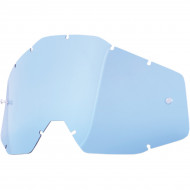 100% BLUE REPLACEMENT LENS FOR 100% OFFROAD GOGGLES 51001-002-02