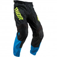 THOR YOUTH PULSE AIR ACID S9Y OFFROAD PANTS ELECTRIC BLUE/BLACK (18 * 20 * 22 * 24 * 26) 2903-1683