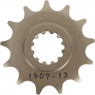 JT SPROCKETS JTF1907.13 FRONT REPLACEMENT SPROCKET 13 TEETH 428 PITCH NATURAL STEEL JTF1907.13