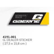 GAERNE G.DEALER STICKER 4191-001