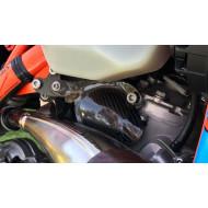 EXTREMECARBON Injection Pump TPI Cover KTM EXC/SX 250/300 TPI 2018-2019 ORANGE/CARBON 17.C.01.E.0001 KTM1