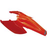 UFO REAR FENDER W/SIDE PANELS KTM SX/SX-F (BLACK * ORANGE) KT03076