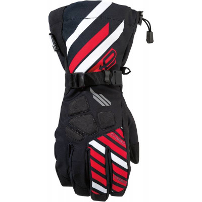 ARCTIVA GLOVE  S7 RAVINE BLACK/RED XXXL 3340-1130