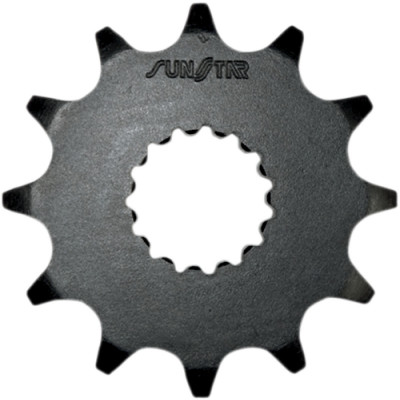 SUNSTAR SPROCKETS 357 FRONT REPLACEMENT SPROCKET 12 TEETH 520 PITCH BLACK STEEL 35712