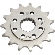 JT SPROCKETS JTF284.15 FRONT REPLACEMENT SPROCKET 15 TEETH 520 PITCH NATURAL STEEL JTF284.15