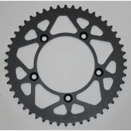MOOSE RACING HARD-PARTS REAR SPROCKET / 50 TEETH / 520 PITCH / BLACK / STEEL 1210-460-50-STL