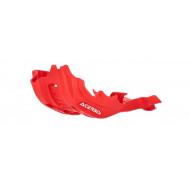 ACERBIS SKID PLATE HONDA CRF450 21 (BLACK * RED) AC 0024705